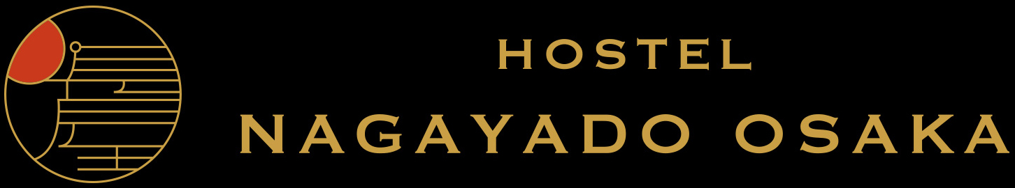 HOSTEL NAGAYADO OSAKA ロゴ